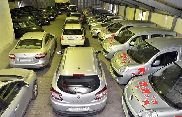 Samochody wystawione na licytację / Fot: Przemek Świderski /Reporter