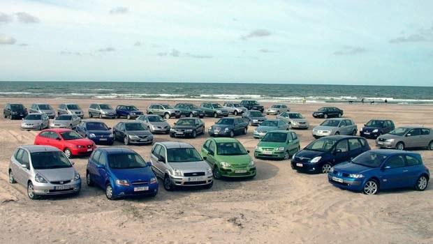 Samochody zgłoszone do  tegorocznego Car of the Year / kliknij /INTERIA.PL