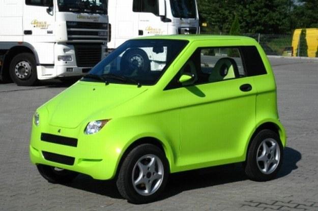 Samochodzik  ma być kierowany głównie do nastolatków. /