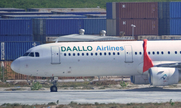 Samolot linii Daallo Airlines /AFP