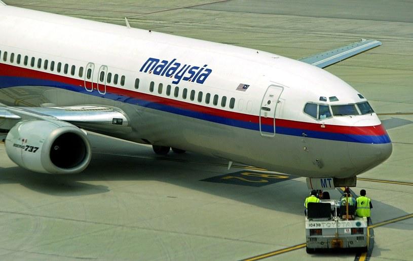 Samolot linii Malaysia Airlines /PAP/EPA