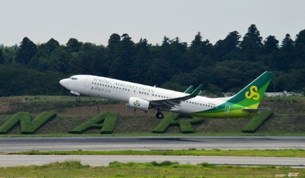 Samolot linii Spring Airlines /AFP