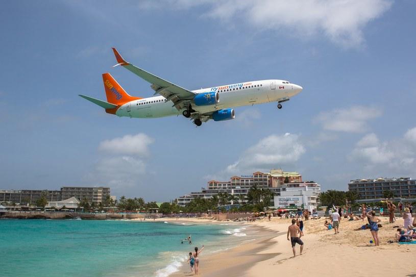 Samolot linii Sunwing, zdj. ilustracyjne /Michal Adamowski /Reporter