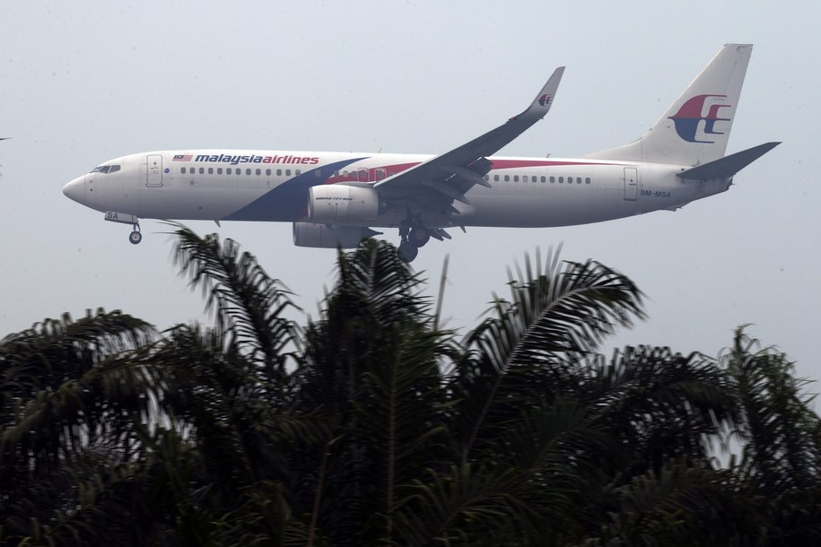 Samolot malezyjskich linii lotnicznych /AHMAD YUSNI /PAP/EPA