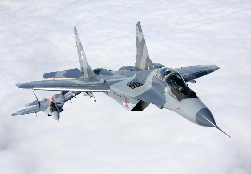 Samolot MiG-29 z 22. Bazy Lotnictwa Taktycznego w Malborku. zdj. ilustracyjne /Maciej Wolanski /FORUM