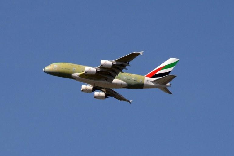 Samolot saudyjskich linii lotniczych /AFP