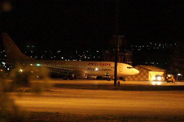 Samolot tureckich linii lotniczych Pegasus. /AFP