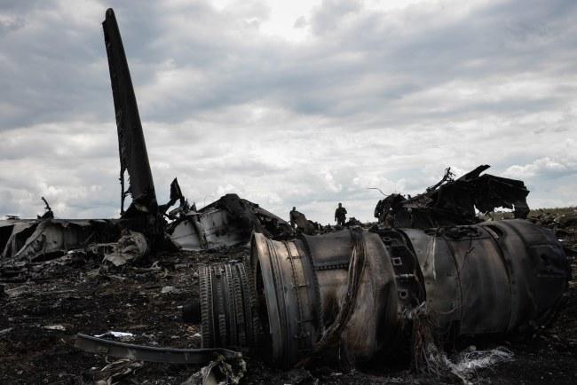 Samolot został zestrzelony w sobotę /MSTYSLAV CHERNOV /PAP/EPA