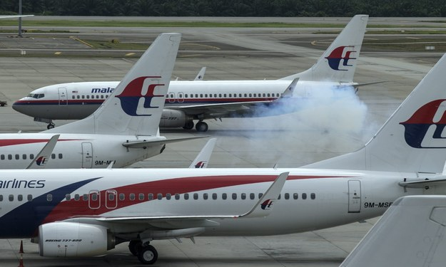 Samoloty linii Malaysia Airlines /PAP/EPA