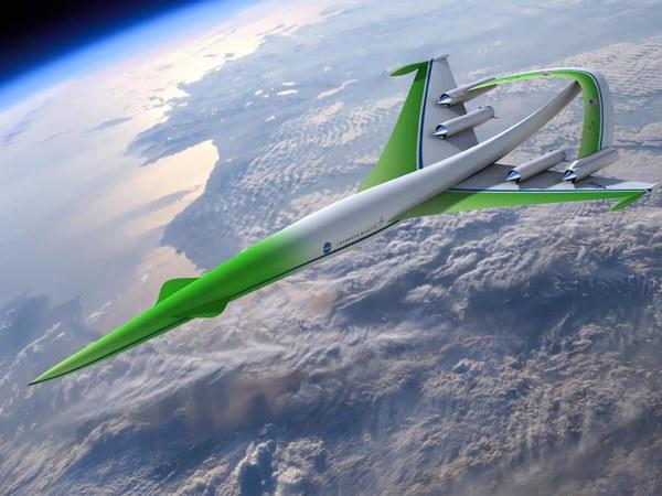 Ponaddźwiękowy Lockheed Martin Fot. Nick Kaloterakis