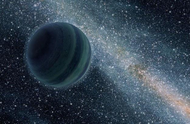 Samotna planeta - grafika ilustracyjna /NASA
