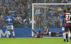 Sampdoria Genua - Genoa FC 2-1. Cały mecz Linnetego