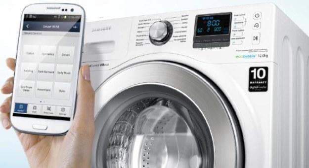 Samsung Arno WF12F9E6P4W - pralka obsługiwana smartfonem /materiały prasowe