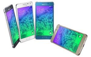 Samsung GALAXY Alpha - z metalową ramką