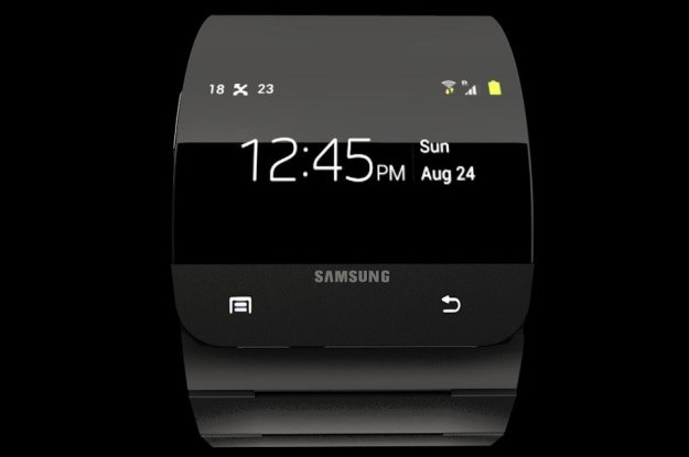 Samsung Galaxy Gear - najprawdopodobniej właśnie tak będzie wyglądał /materiały prasowe