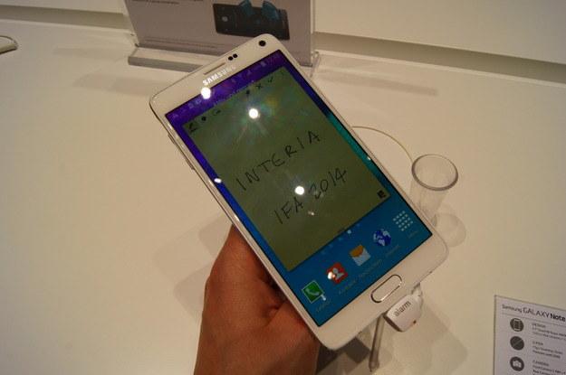 Samsung Galaxy Note 4 /INTERIA.PL