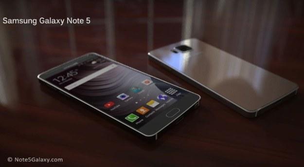 Samsung Galaxy Note 5 - koncept /materiały prasowe