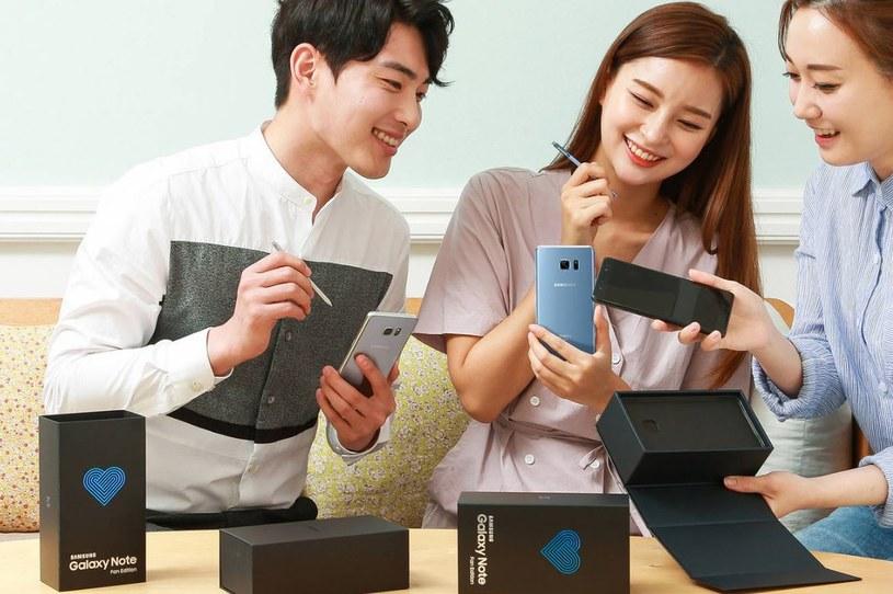 Samsung Galaxy Note Fan Edition ma kilka funkcji, których nie miał Note 7 /materiały prasowe