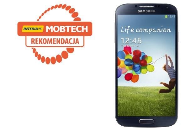 Samsung Galaxy S 4 otrzymuje rekomendację serwisu Mobtech.interia.pl /INTERIA.PL