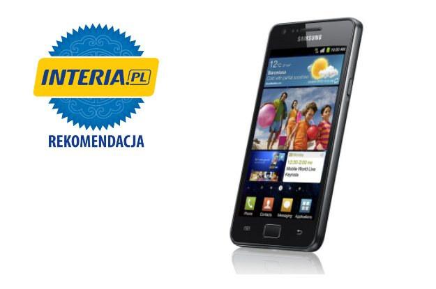 Samsung Galaxy S II otrzymuje od serwisu Nowe Technologie INTERIA.PL oficjalną REKOMENDACJĘ /INTERIA.PL