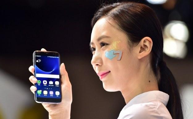 Samsung Galaxy S7 Edge /AFP