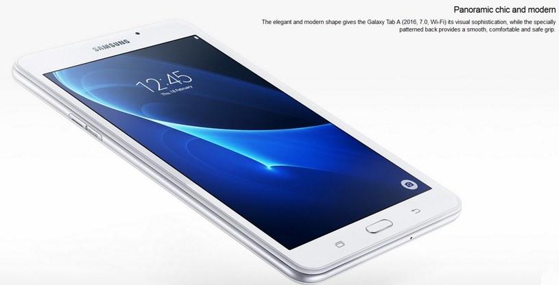 Samsung Galaxy Tab A (2016) /materiały prasowe