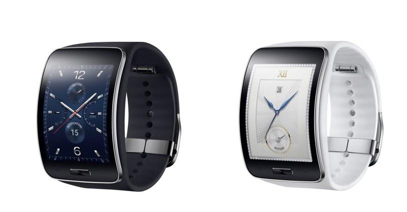 Samsung Gear S będzie dostępny w dwóch wersjach kolorystycznych /materiały prasowe