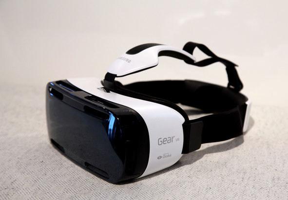 Samsung Gear VR. /AFP