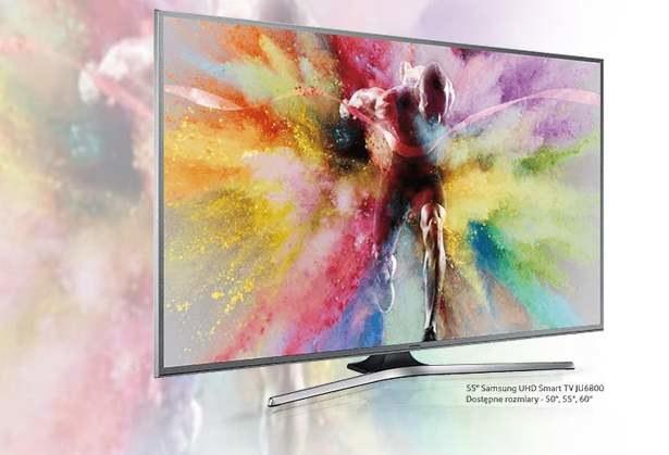 """Samsung JU6800 - rodzina telewizorów Samsunga """"uzbrojona"""" w nanokryształy /materiały prasowe"""