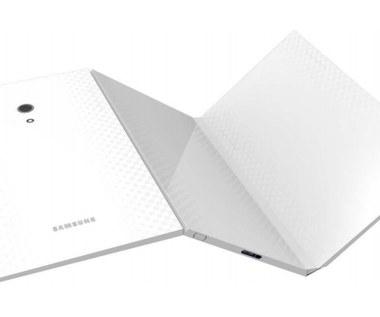 Samsung patentuje podwójnie składany tablet