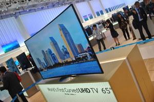 Samsung - profilowany telewizor Curved UHD i specjalne telewizory 4K