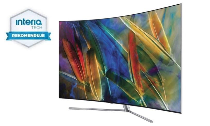Samsung QLED TV Q7C otrzymuje REKOMENDACJĘ od Serwisu Nowe Technologie Interia /INTERIA.PL