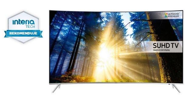 Samsung UE49KS7500 otrzymuje rekomendację serwisu Nowe Technologie Interia /materiały prasowe