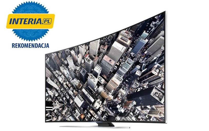 Samsung UHDTV UE55HU850 otrzymał REKOMENDACJĘ serwisu NOWE TECHNOLOGIE INTERIA.PL /INTERIA.PL