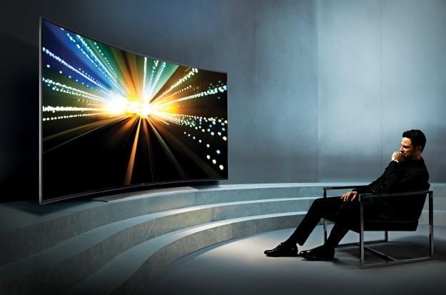 Samsung UHDTV UE55HU8500 - 4K i technologia Curved w jednym /materiały prasowe