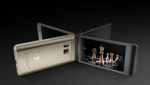 Samsung W2016 - klapka z najwyższej półki