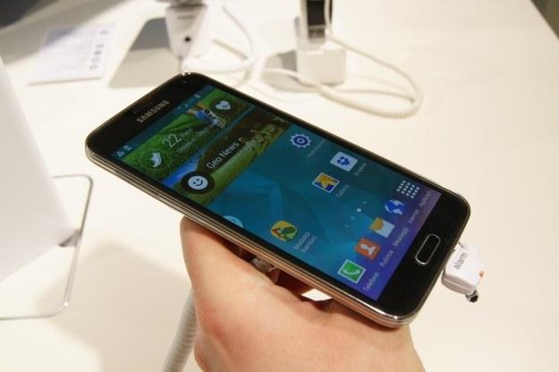 Samsung zachęca gratisami do kupna Galaxy S5. /INTERIA.PL
