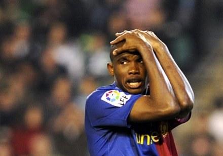 "Samuel Eto'o kocha ""Dumę Katalonii"" /AFP"