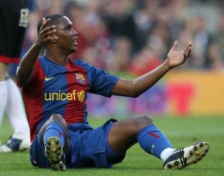 Samuel Eto'o otwiera listę życzeń Milanu /AFP