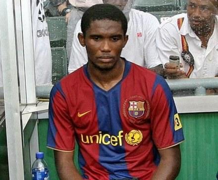 Samuel Eto'o wróci do gry na początku listopada /AFP