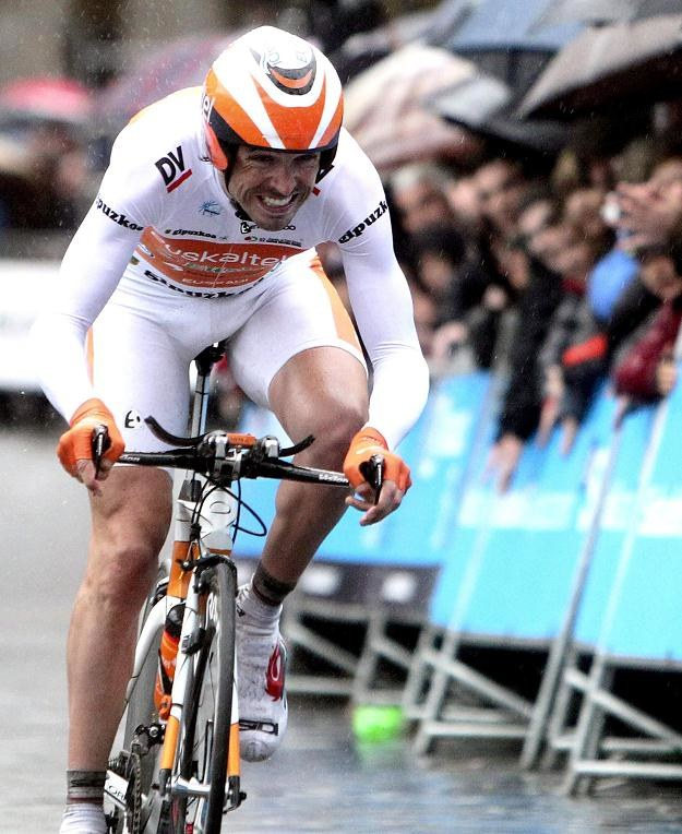 Samuel Sanchez z grupy Euskaltel /AFP