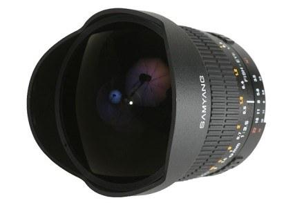 Samyang 8mm f/3.5 IF MC Aspherical fish-eye /materiały prasowe