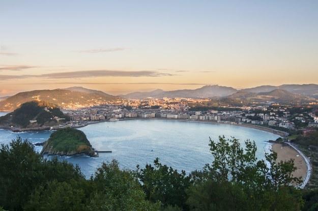 San Sebastian w Hiszpanii /123/RF PICSEL