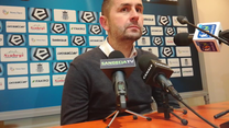 Sandecja - Lech 0-0. Nenad Bjelica ocenia mecz (wideo)