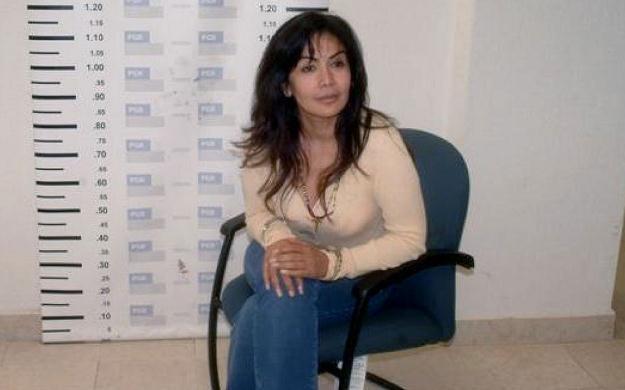 Sandra Avila Beltran na zdjęciu z aresztowania. Miasto Meksyk, wrzesień 2007 /AFP