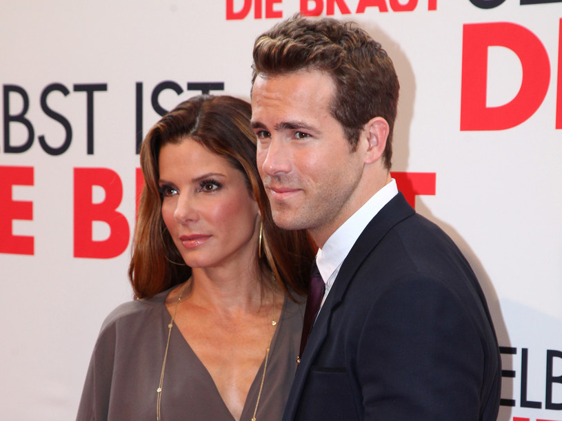 "Sandra Bullock i Ryan Reynolds na premierze ""The Proposal""  /AFP"