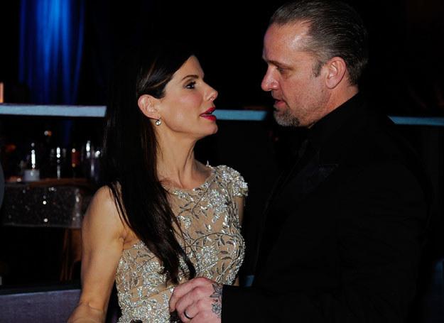 Sandra z niewiernym mężem /Getty Images/Flash Press Media