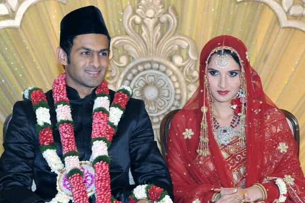 Sania Mirza poślubiła Shoaiba Malika /AFP