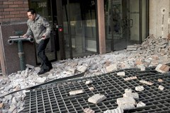 Santiago de Chile po trzęsieniu ziemi