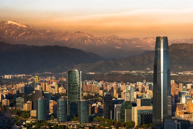 Santiago - stolica Chile /123/RF PICSEL
